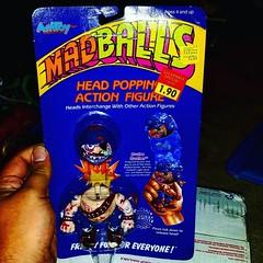 #madballs #monsters #headpopper #amtoy Bruise Brother on a #mint card. #raretoys #RagingNerdgasm #actionfigures #ToyGameTedDibase #toyhorder #toysagram #toyhunting #toyhustle #TomKhayos #ToyGameScroogeMcDuck #toyfinds