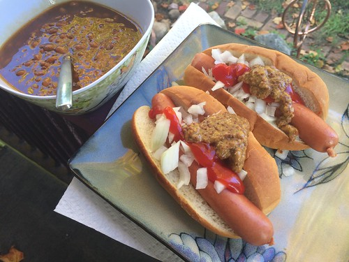 Picture of hotdogs.