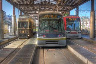 Tramcars at Kagoshima on OCT 24 (18)