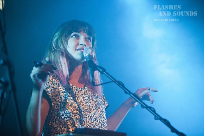 Maïa Vidal en concierto en Music Hall