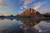 Bow Lake Sunrise by Dan Sherman