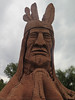 Chief Wasatch statue by BitHead