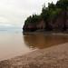 Hopewell Rocks, tide coming in