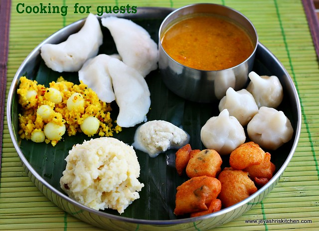 Kozhukattai, Ven pongal, Sambar | Cooking for guests 28 ...