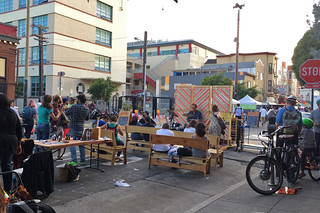 Mission Farmer's Market - Music stage
