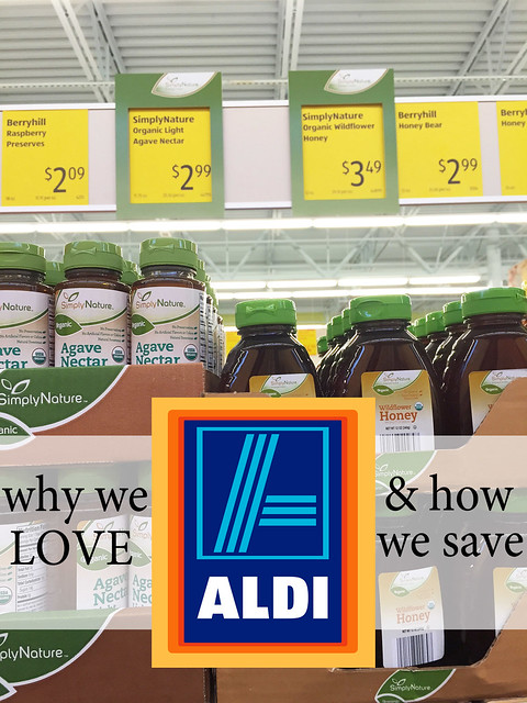 Why we shop Aldi & how we save. A post from a mom of 4 who adores Aldi.