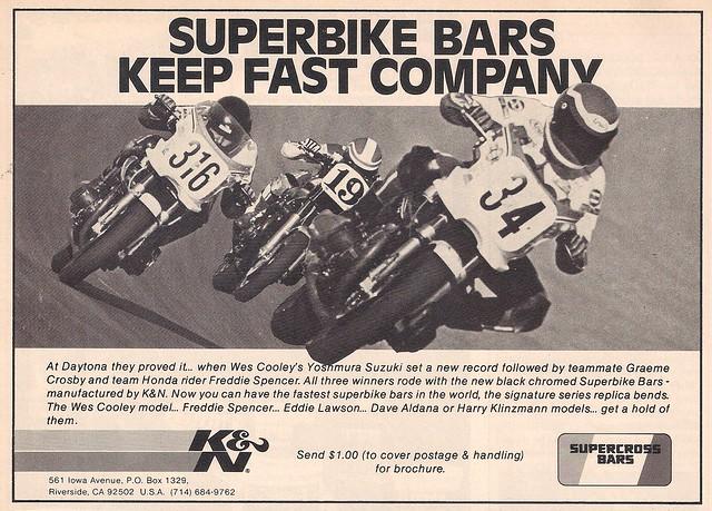 K&N Superbike bars