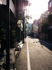 Afternoon Sun in Shinsaibashi