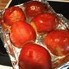 Pumpkin pie step #1: roast three cute little pie pumpkins! #festivalofpie