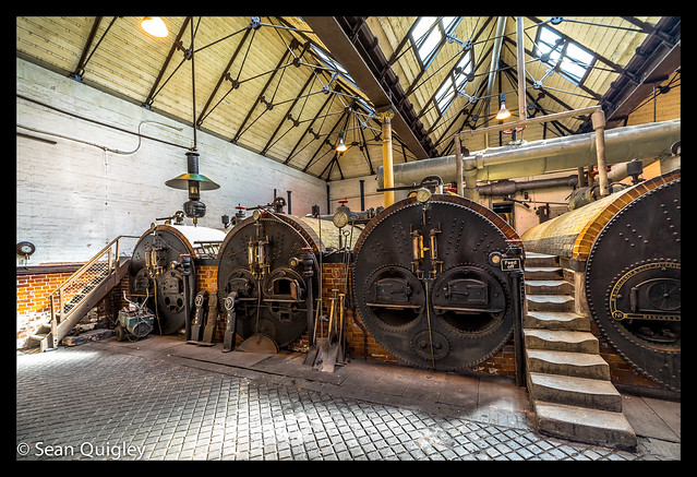Victorian boiler room