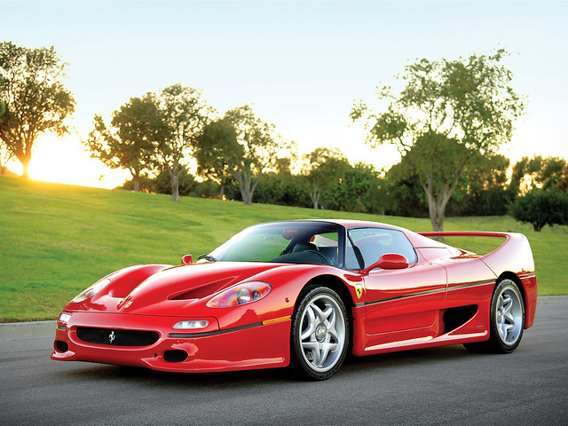 Ferrari F50. Главный конкурент Lamborghini Diablo