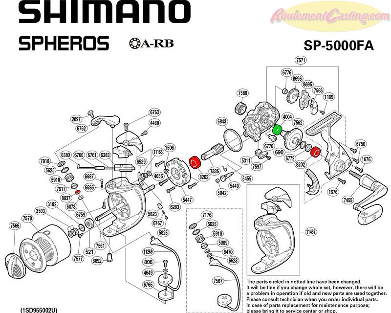 Schema-Shimano-Spheros-5000FA