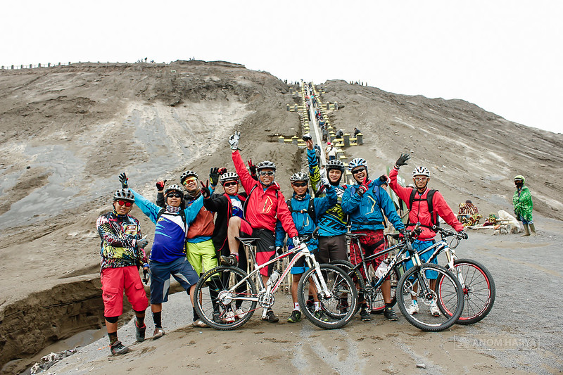 Mountain Biking in Bromo
