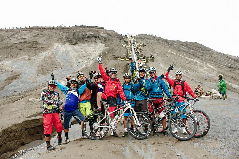 Mountain Biking in Bromo
