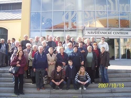 2007 - Výlet zahrádkářů do Plzně