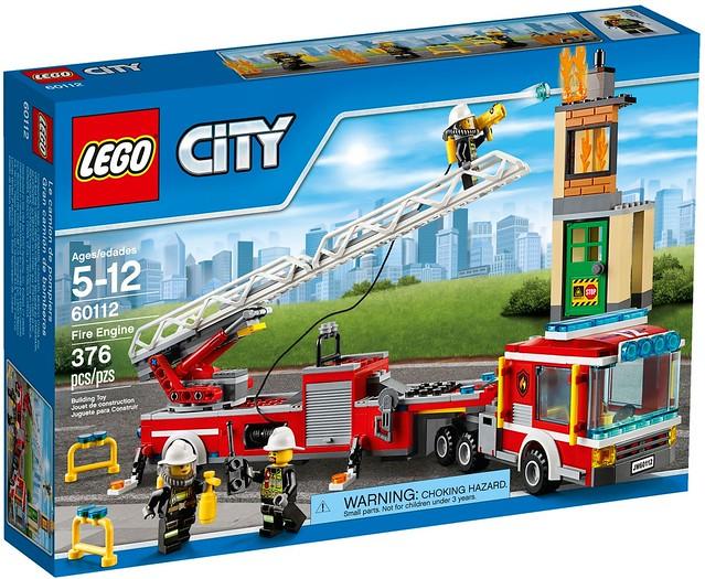 LEGO City 2016 sets   60112 - Fire Engine