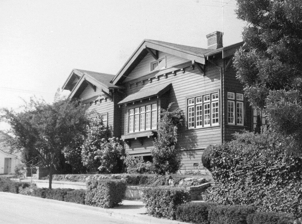 Ron Barrett House, Burlingame, California   After retiring a