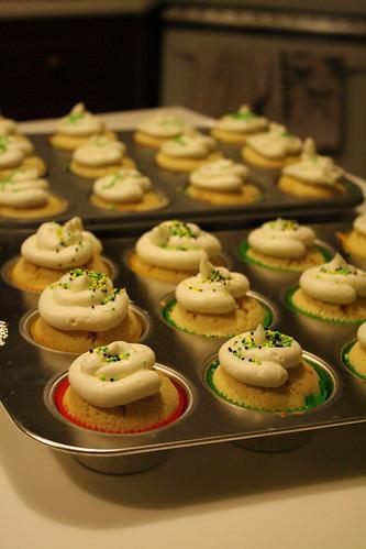 Kareem's birthday cupcakes