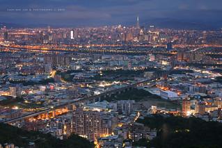 Taipei City at Night, Mt. Datong │ December 5, 2015