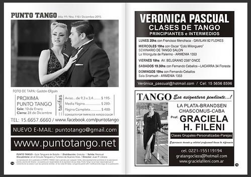 Revista Punto Tango 110 Diciembre 2015-7
