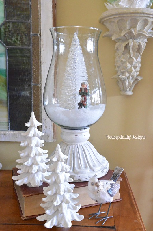 Leah Hurricane with bottle brush tree - Housepitality Designs
