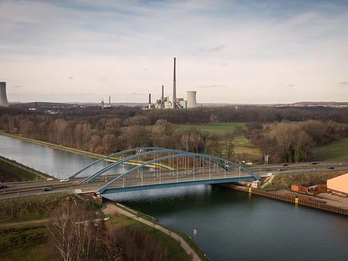 Luftbilder vom Stadthafen Lünen NW3