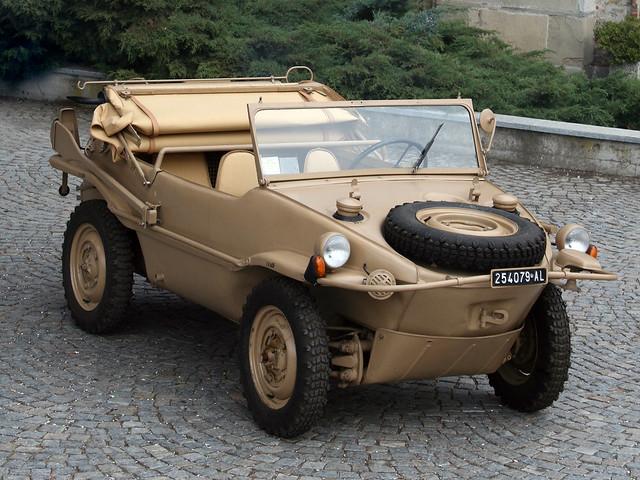 Volkswagen Typ 166 Schwimmwagen. 1942 – 1944 годы
