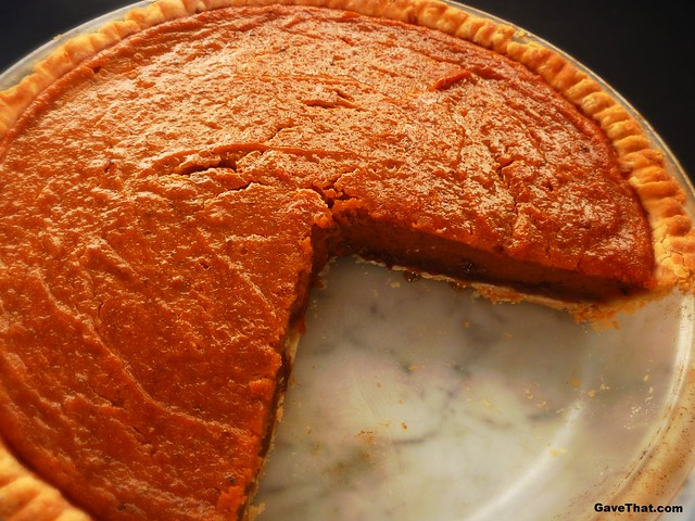 Homemade Patti LaBelle Sweet Potato Pie from scratch