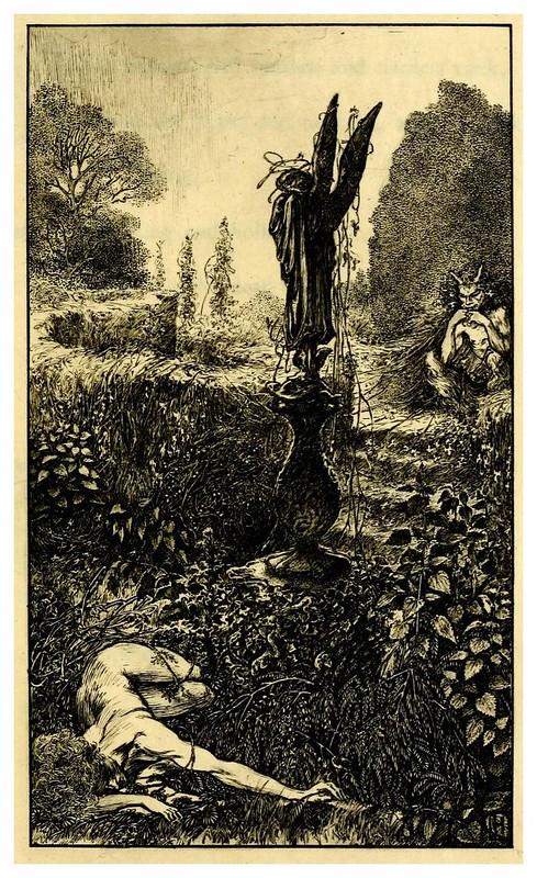 008-The sensitive plant-1899- ilustrado por Laurence Housman