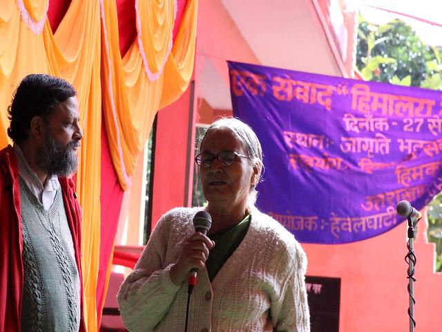 पानी और बीज को बचाने के लिये एकजुट हुए कार्यकर्ता
