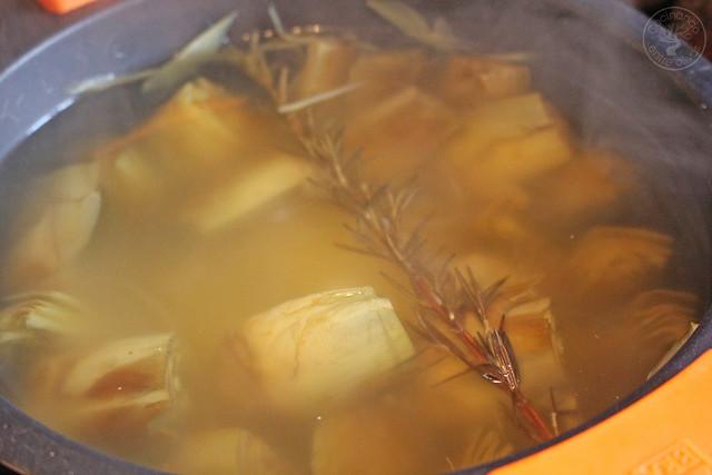 Crema de alcachofa granizado aove www.cocinandoentreolivos.com (38)