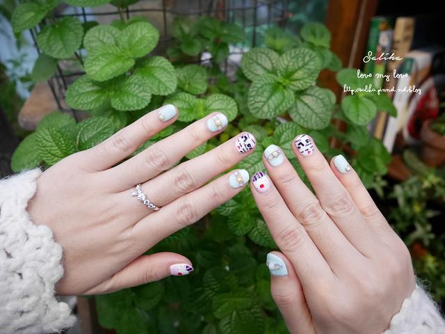 可愛俏皮光療指甲 (33)