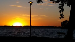 Beaver Dam Lake sunset - 092616