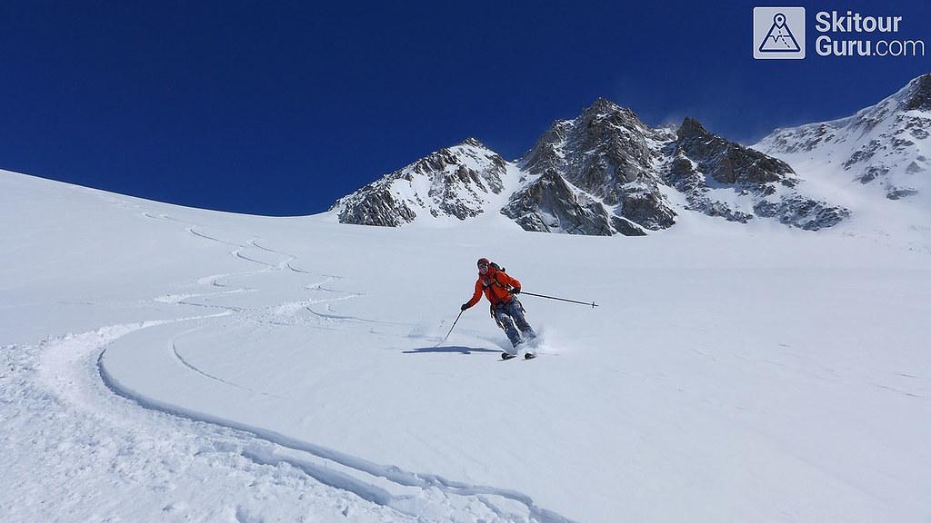 Haute Route Swiss Glacier, Diechterhorn, Urner Alpen:http://skitourguru.com/oblast/23-urner-alpen, Switzerland