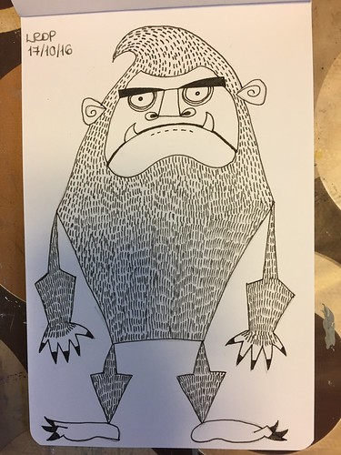 17 Inktober 2016 - Bigfoot-Sasquatch-Yeti