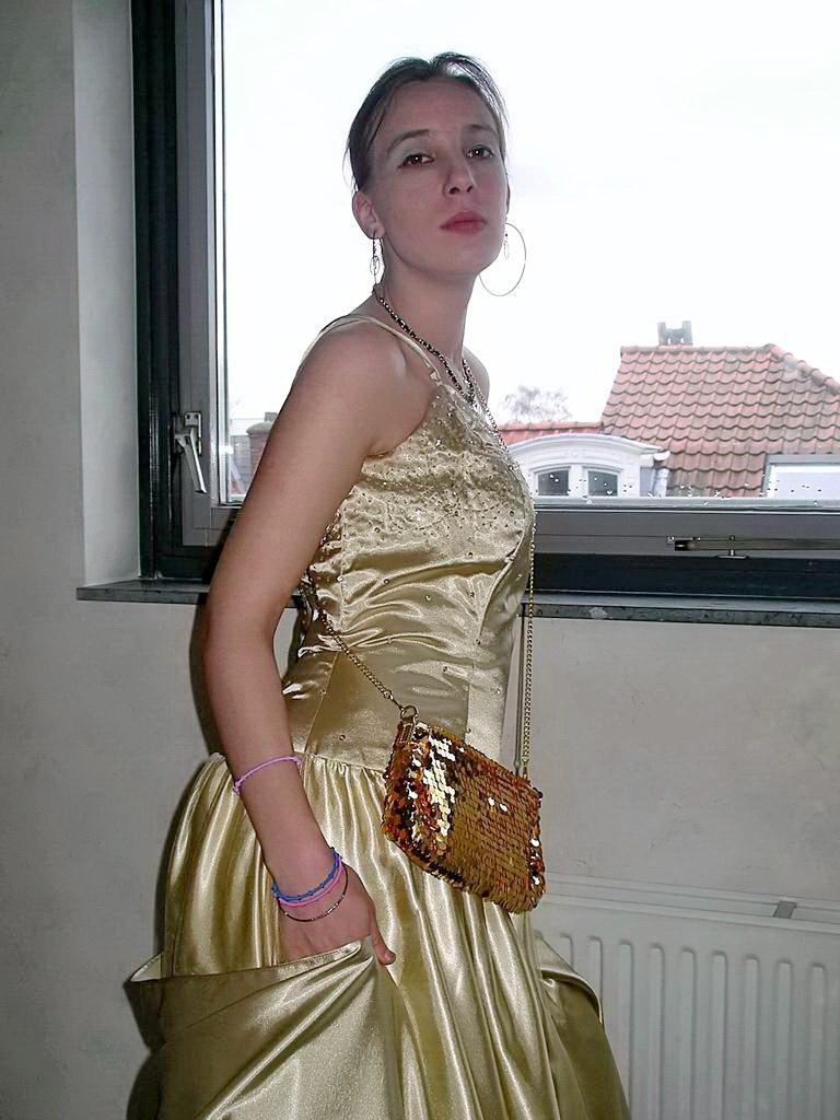 Shiny Satin Dresses