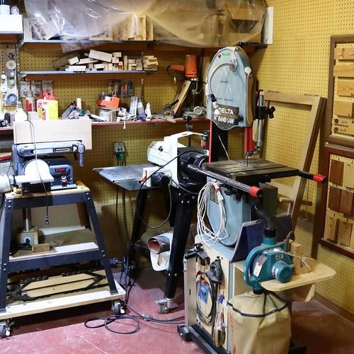 木工工房スペース
