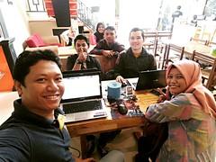 Gathering bersama #bloggerpontianak dalam rangka #hutpontianak245