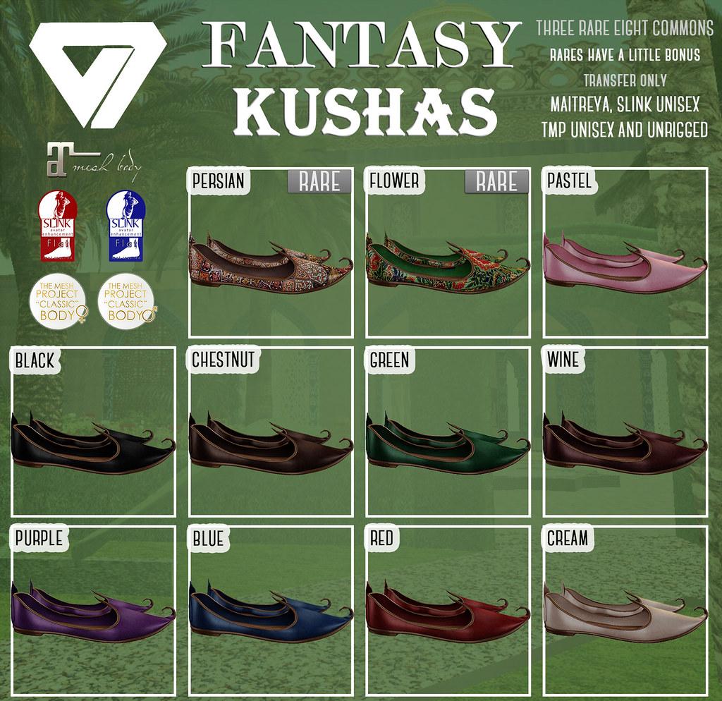 Fantasy Kushas at Fantasy Gacha Carnival