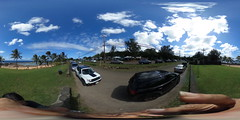 At Tables at Pupukea on the North Shore of Oahu, Hawaii  - A 360 degree Equirectangular VR