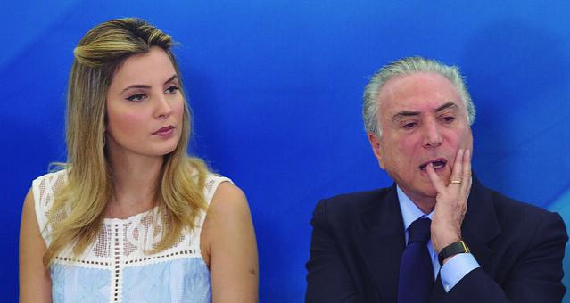 Programa Criança Feliz foi lançado pela primeira-dama Marcela Temer, que nunca trabalhou com assistência social - Créditos: Lula Marques / AGPT