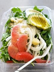 Grapefruit & Avocado Salad