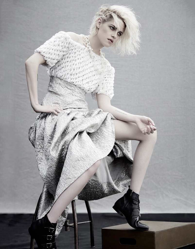Кристен Стюарт — Фотосессия для «Elle» CH 2016 – 5