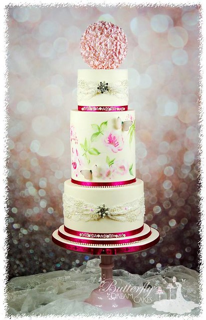 Painted Cake by Butterfly Dream Cakes