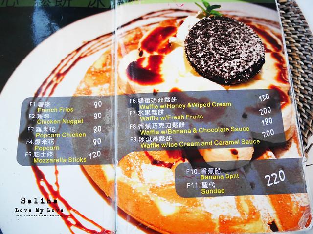 貓空一日遊喝茶餐廳推薦貓空小木屋茶館菜單menu (2)