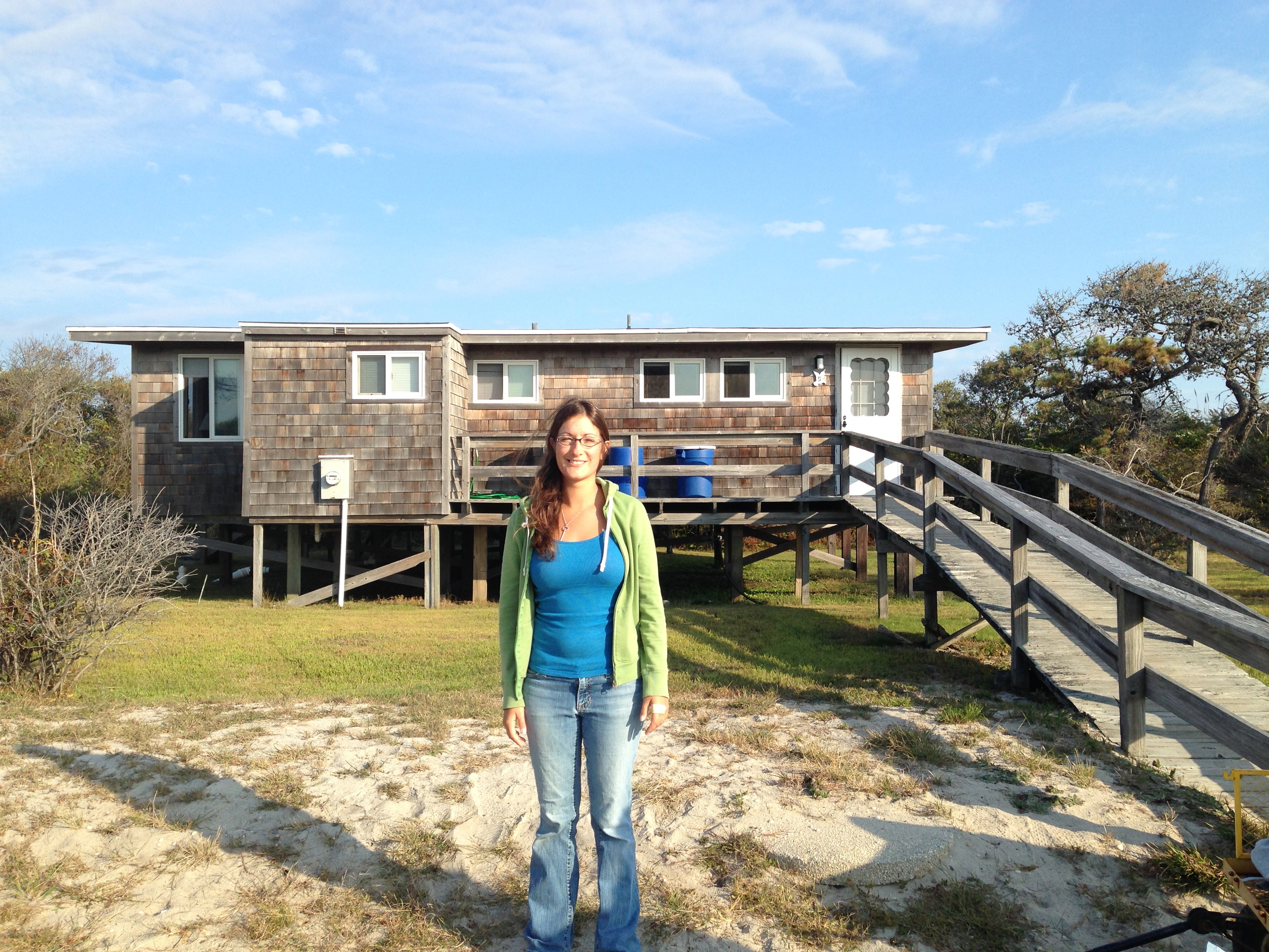 Dr. King introduced Monique LaFrance to habitat mapping eight years ago, when she was an undergraduate summer intern. Now a doctoral student, LaFrance is managing the fieldwork of a habitat-mapping project at Fire Island National Seashore and coordinating research teams at three other coastal National Parks.