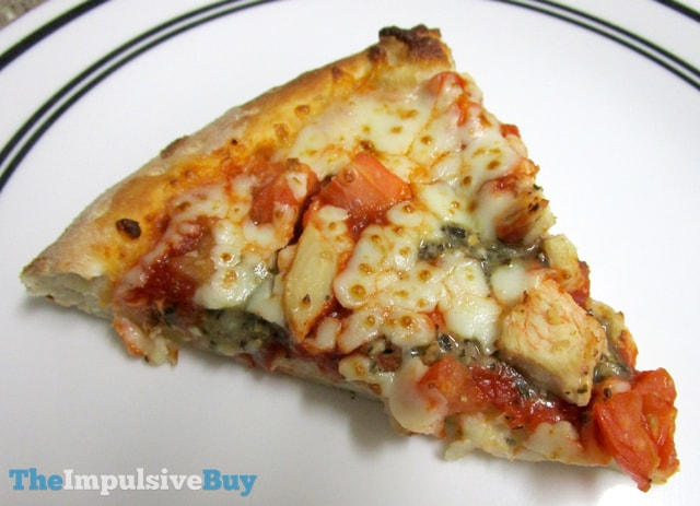 Papa John's Grilled Chicken Margherita Pizza Slice