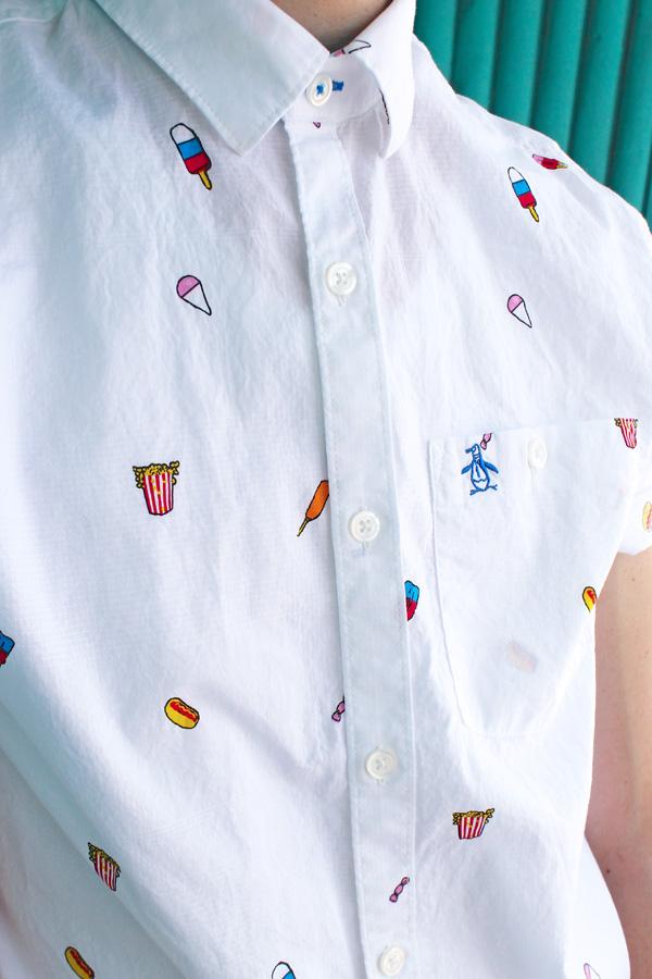 OP carnival food shirt