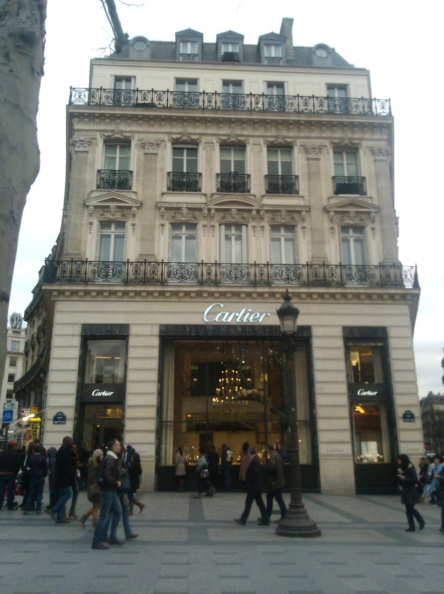 Champs Élysées - Cartier