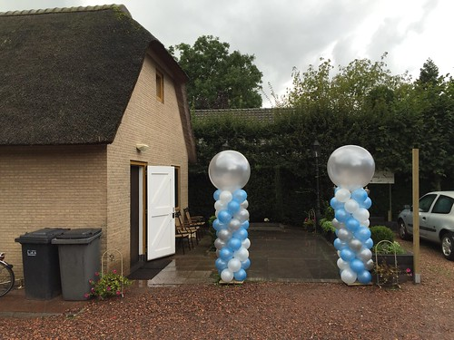 Ballonpilaar Breed Rond Lickebaertshoeve Maasland